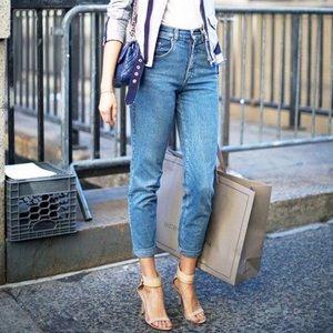 H&M High Rise Vintage Fit Jeans